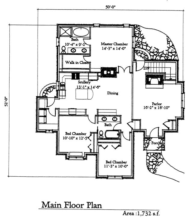 Storybook homes floor plans 28 images the gwyndolyn Storybook cottages floor plans