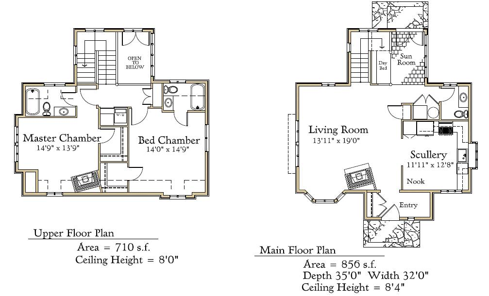 Appealing fairytale cottage house plans images best for Fairytale cottage home plans