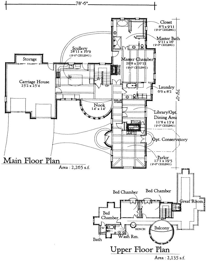 28 Storybook Floor Plans French Cottage Floor Plans